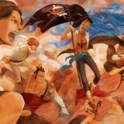 海賊王:群龍無首的白鬍子海賊團眾人該何去何從?要抱路飛大腿么!