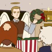國漫《萬聖街》動畫版第9集情報:天使和魔鬼一起過聖誕節