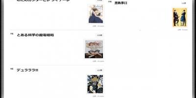 日本漫迷票選十年前動畫排名TOP10,炮姐僅排第七,向陽素描第一