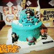 《海賊王》草帽團被做成蛋糕,海迷:以後過生日就選它了