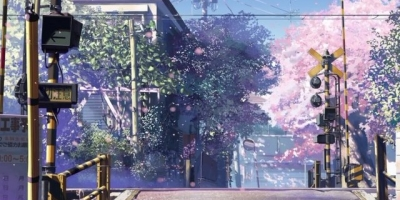 新海誠動畫電影《秒速五厘米》,聽說櫻花飄落的速度是秒速五厘米