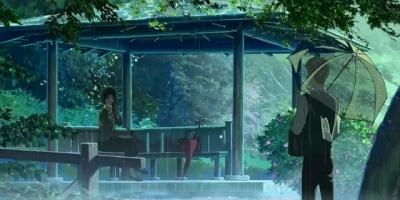 新海誠戀愛動畫電影推薦:《言葉之庭》—朦朧之美,感動的淚