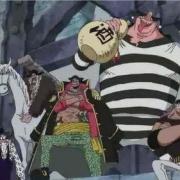 海賊王:推進城夥伴為何加入黑鬍子海賊團?形勢逼人不得不從!