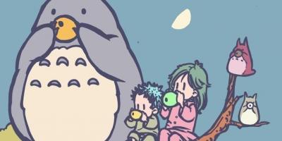 宮崎駿動漫CP的現實版日常:哈爾與蘇菲狂撒狗糧,白龍真像小女生