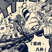 海賊王984話:潤媞醒來開啟毒舌嘴,吐槽大和用的是「雷鳴四卦」