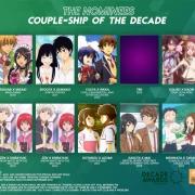 外媒投票最受歡迎動漫CP(動漫情侶),有你最喜歡的嗎?