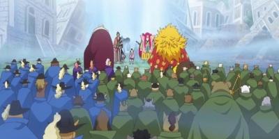 海賊王情報:桃之助再次被凱多處刑,光月御田希望兒子天下無敵
