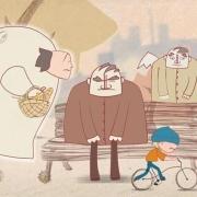 動畫短片推薦《皮孩子的守護天使》,以簡單的線條勾勒出嚴肅的主題