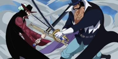 海賊王:比斯塔劍術和鷹眼平級,綜合實力相差甚遠,攔不住赤犬