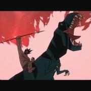 不吹不黑,美國動畫《野蠻紀源/原始戰紀》才是真正的猛男番!