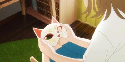 《想哭的我戴上了貓的面具》影評:低配版千與千尋,岡媽純愛動畫電影