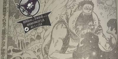 海賊王1005話情報:日語版全圖流出,標題「惡魔の子」