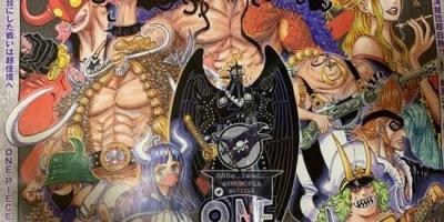 海賊王1006話情報,日本版全圖流出,馬爾科皇副實力以一敵二