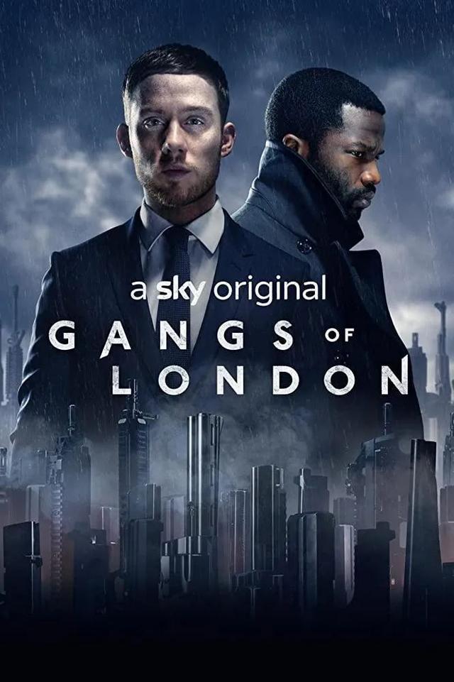 英國電視劇《倫敦黑幫》海報