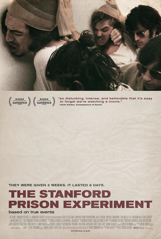 《斯坦福監獄實驗》電影海報